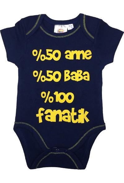 Fenerbahçe Lisanslı Unisex Bebek Zıbın