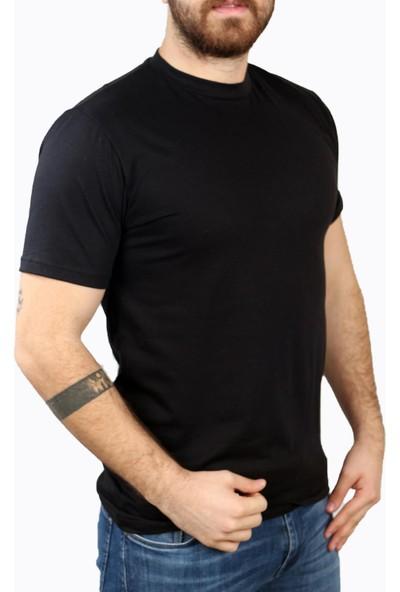 Deri̇go Siyah Erkek Balıkçı Yaka T-Shirt 68502