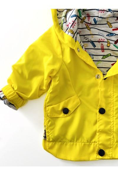 Colored Baby Erkek Bebek Yağmurluk Takım 3 Parça - Benny