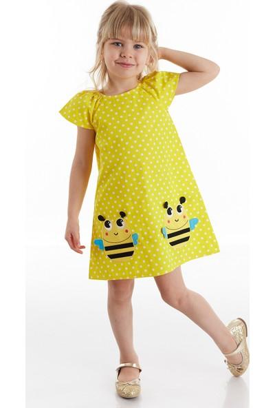 Denokids Puanlı Arılar Kız Elbise