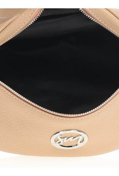 EXCLUSIVE Kadın Bel Çanta Bej