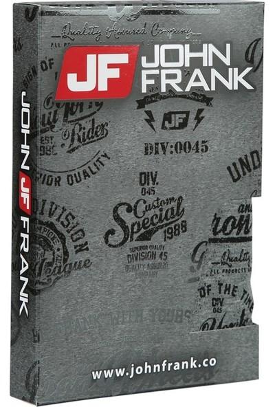 John Frank Dijital Baskılı Boxer Antrasit