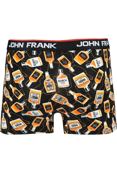 John Frank Dijital Baskılı Boxer Multıcolor
