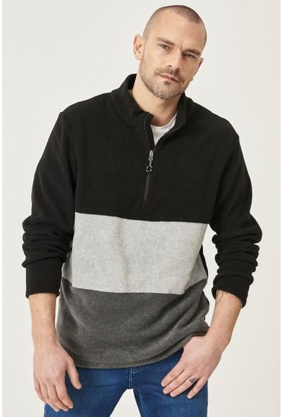 Altınyıldız Classics Standart Fit Günlük Rahat Bato Yaka Polar Sweatshirt