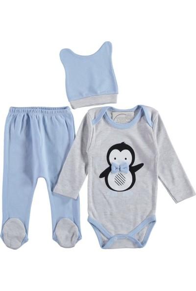 Babycan Bay Penguen Erkek Bebek 3 Parça Takım 320148