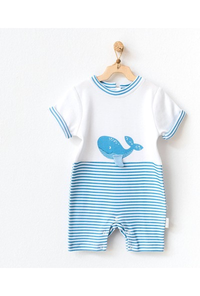 Andywawa Cute Whale Bebek Tulumu AC21546