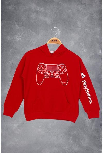 Toontoy Erkek Çocuk Konsol Baskılı Sweatshirt