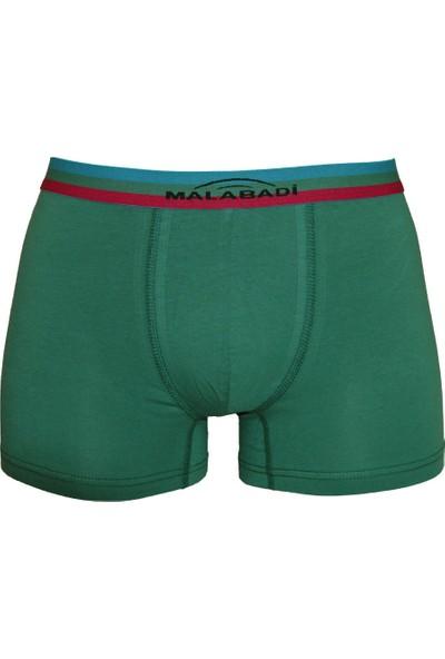 Malabadi Yeşil Erkek Boxer Tekli Pamuklu Baksır 1M075