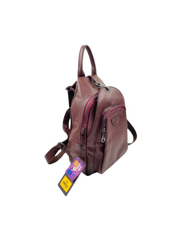 Çantam Gelsin Kadın Yıkamalı Deri Sırt Çantası