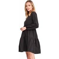 Şamdan Kadın 3318 Siyah Elbise