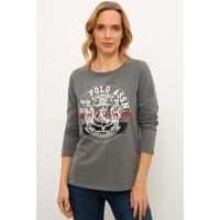 U.S. Polo Assn. Gri Sweatshirt 50225797-VR081