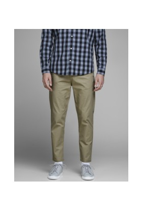 Jack & Jones Jjıace Jjun Ww Kelp Şerit Detalı Pantolon
