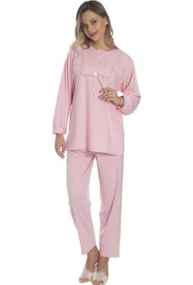 Akala Akala-Dy Pamuklu Anne Penye Kadın Pijama Takım 9012