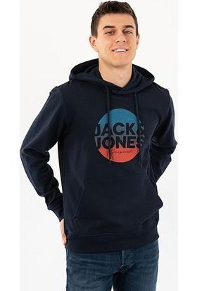 Jack & Jones Erkek Sweatshirt -Lacivert