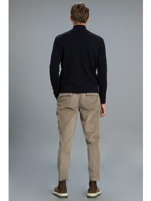 Lufian Agazıo Kargo Pantolon Tailored Fit Vizon