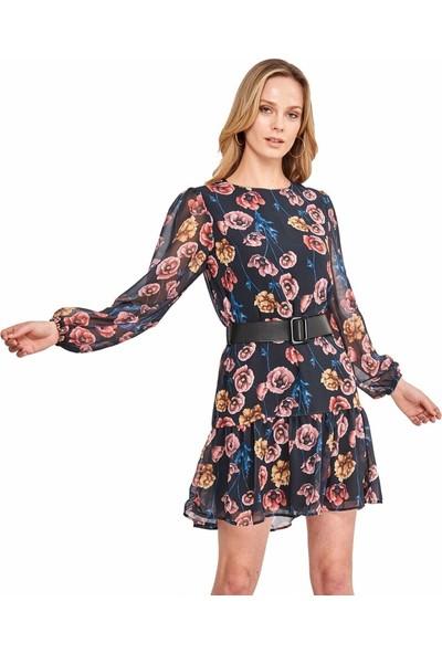 Şamdan Kadın 3203 Siyah Elbise
