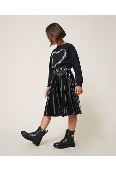 Twinset Twın Set-Kız Çocuk-Notleather SKIRT-202GJ2132