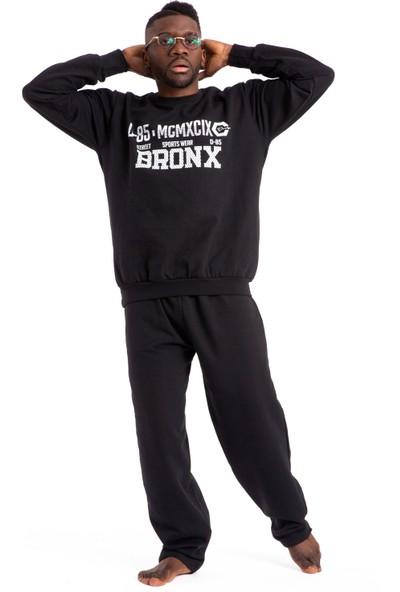 Tampap Erkek Kalın Kışlık Cepli Pijama Takımı D-86