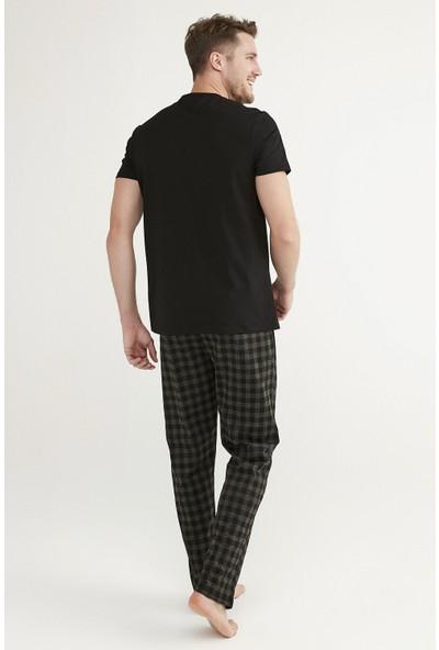 Penti Siyah Gift Pepper Ss Pantolon Takımı