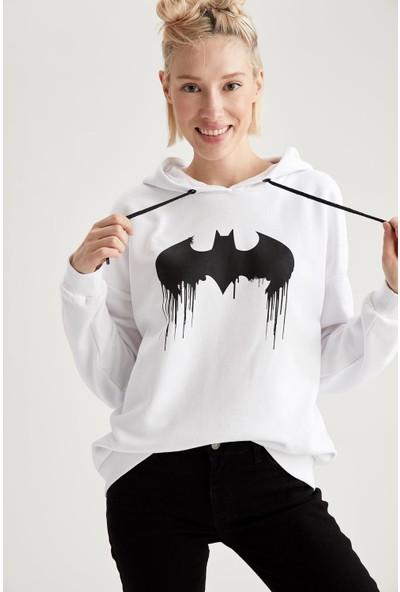 DeFacto Batman Lisanslı Sweatshirt