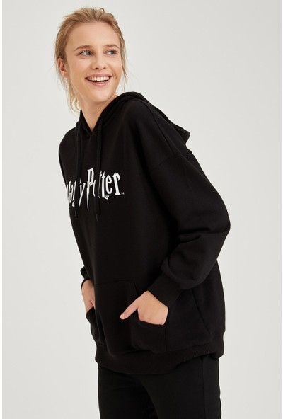 DeFacto Harry Potter Lisanslı Sweatshirt