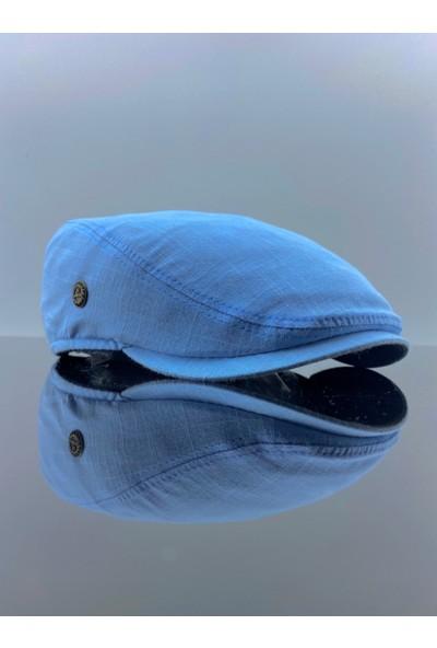 Mercan Toptan Mavi Erkek Şapka Spor London Kasket