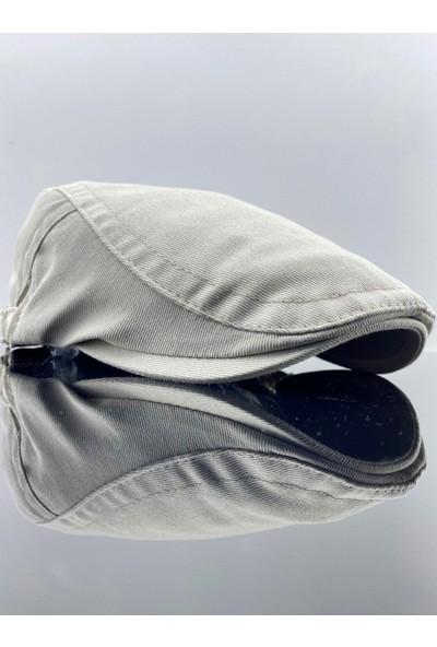 Mercan Toptan Krem Erkek Şapka Spor London Kasket
