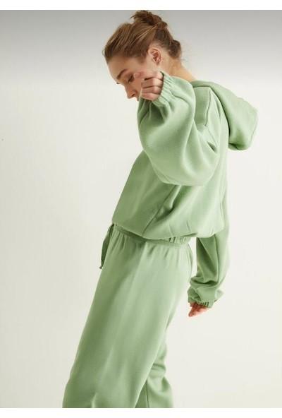 Limelight Yeşil Triko Takım Kadın