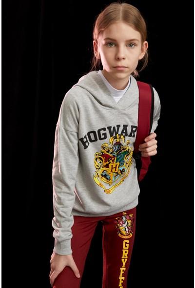 DeFacto Kız Çocuk Harry Potter Lisanslı Sweatshirt