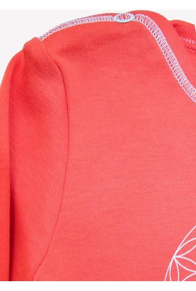Ozmoz Özel Koleksiyon Annapurna Kırmızı Organik Bebek Body