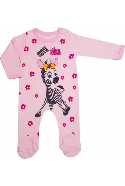 Oksima Sevimli Zebra Kız Tulum