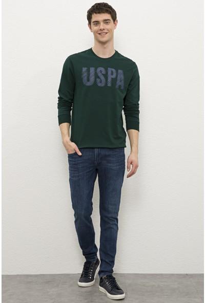 U.S. Polo Assn. Yeşil Sweatshirt 50234154-VR079