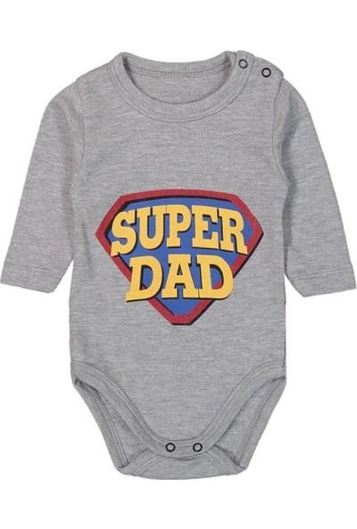 Güneş Bebe Super Dad Askılı Body