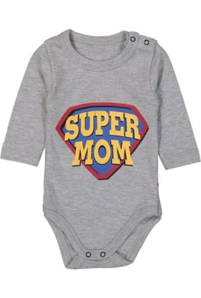 Güneş Bebe Super Mom Askılı Body