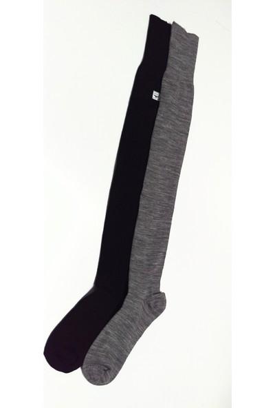 Sayıl 2 Li Diz Üstü Kadın Çorap