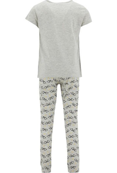 DeFacto Kız Çocuk Harry Potter Lisansli Pijama Takımı