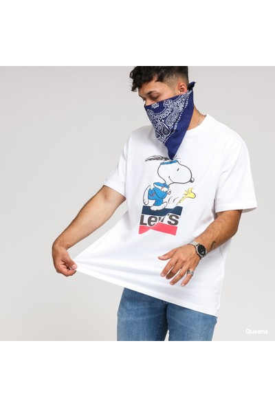Levis Erkek Tişört Snoopy 16143-0080