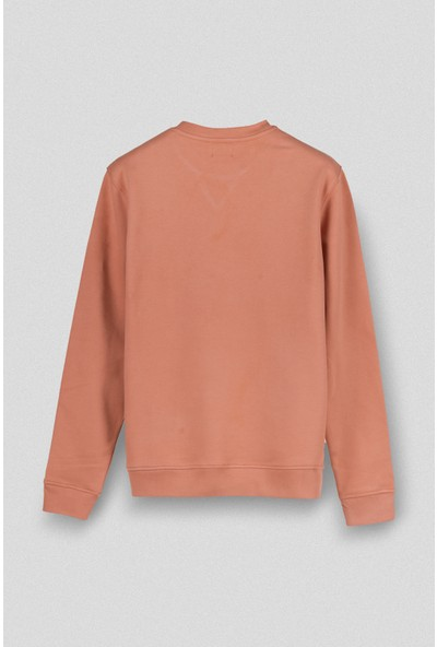 Vogors Taba Basic Sweatshirt Normal Kesim