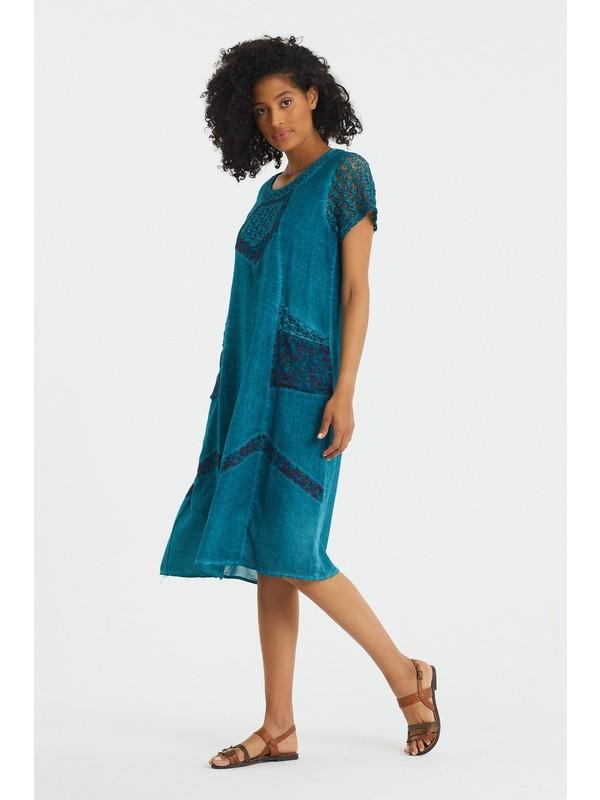 Valewoman Otantik Elbise | Pamuk Kumaş | Astarlı |