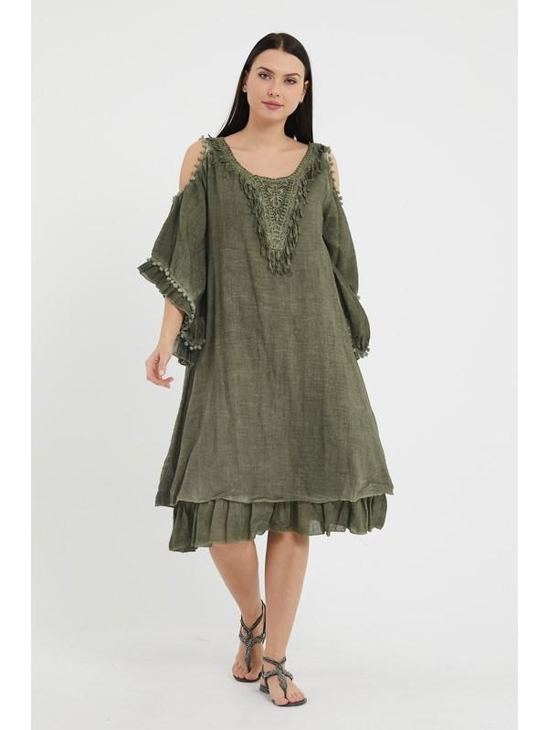 Valewoman Yıkamalı Elbise