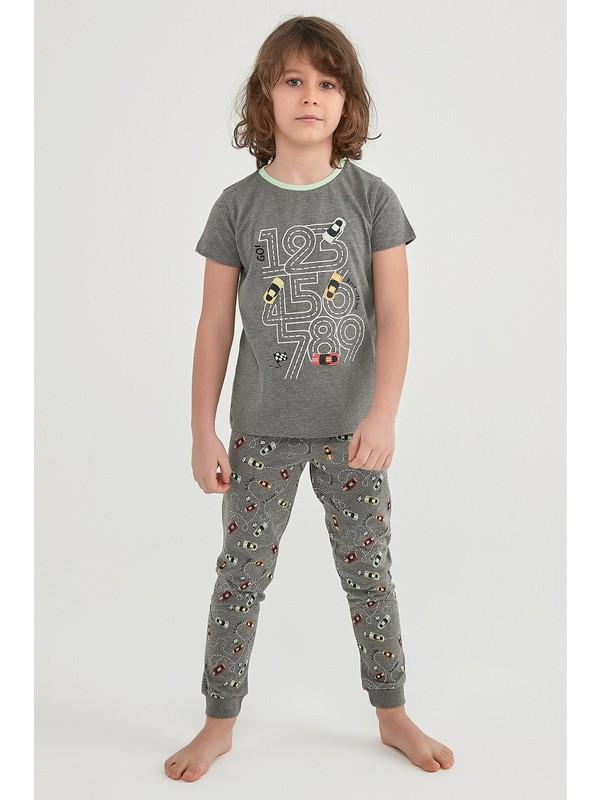 Penti Çok Renkli Erkek Çocuk Number Race 2li Pijama Takımı