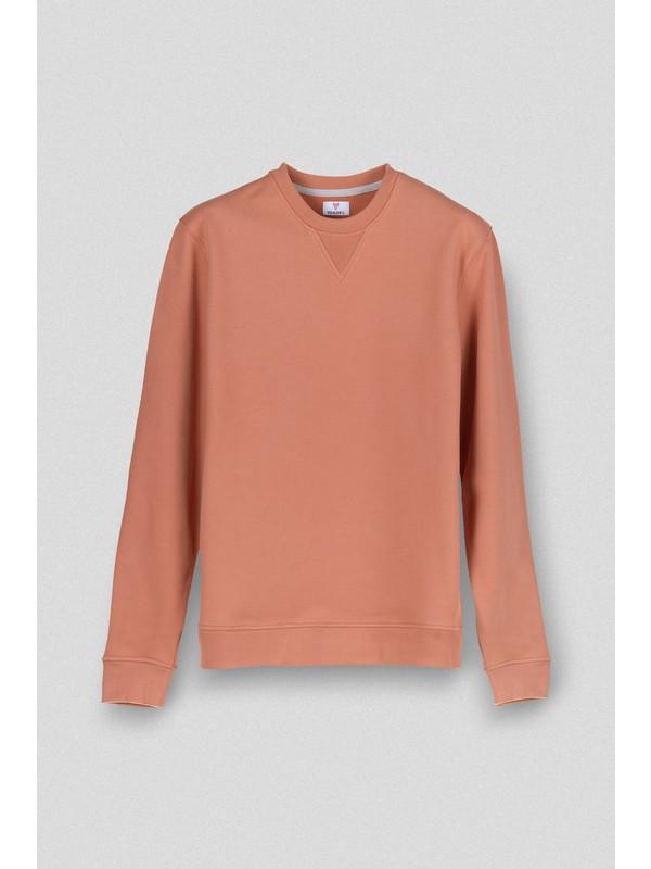 Vogors Taba Basic Sweatshirt Normal Kesim