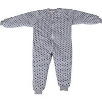 Özlem Bebe 7-12 Yaş Arası Ara Dolgu Mavi Puantiyeli Uyku Tulumu