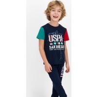 U.S. Polo Assn. Erkek Çocuk Kısa Kol Pijama Takımı