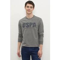 U.S. Polo Assn. Gri Sweatshirt 50234139-VR081