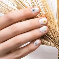Artikel Papatya Tırnak Dövmesi, Tırnak Tattoo, Nail Art, Tırnak Sticker, Nail Sticker
