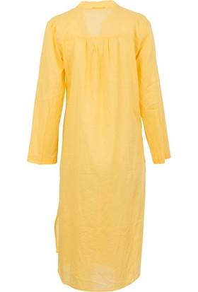 S.y 8029 Kadın Tunik Sarı
