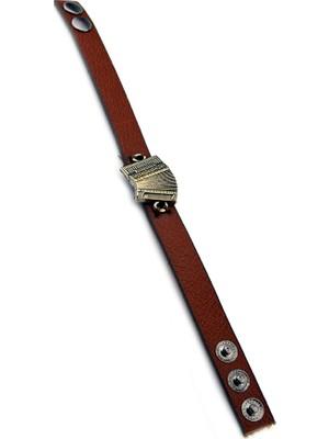 Anahtarlık Sepeti Çıt Çıtlı Deri Akordiyon Bileklik