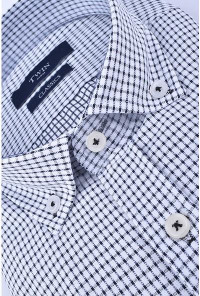 Twin 211-041 Classics Kısa Kol Gömlek