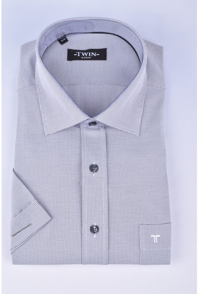 Twin 211-015 Classics Kısa Kol Gömlek